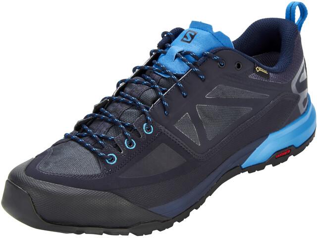 Salomon X Alp SPRY GTX Shoes Men Night Sky/Graphite/Indigo Bunting